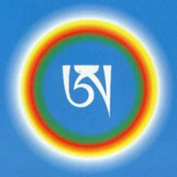 Anniversary of Jomo Menmo. Guru-yoga of White A.